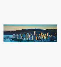 Vancouver Skyline Photographic Print