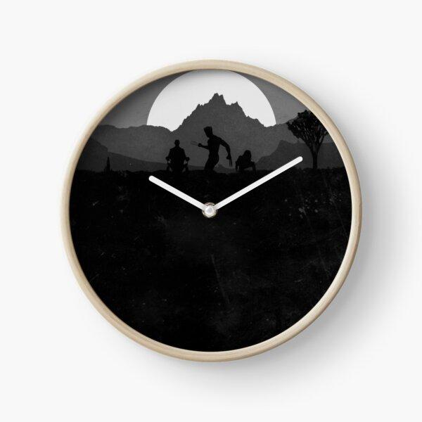 Wall Clock Wolverine Minimalist Comix Silhouette