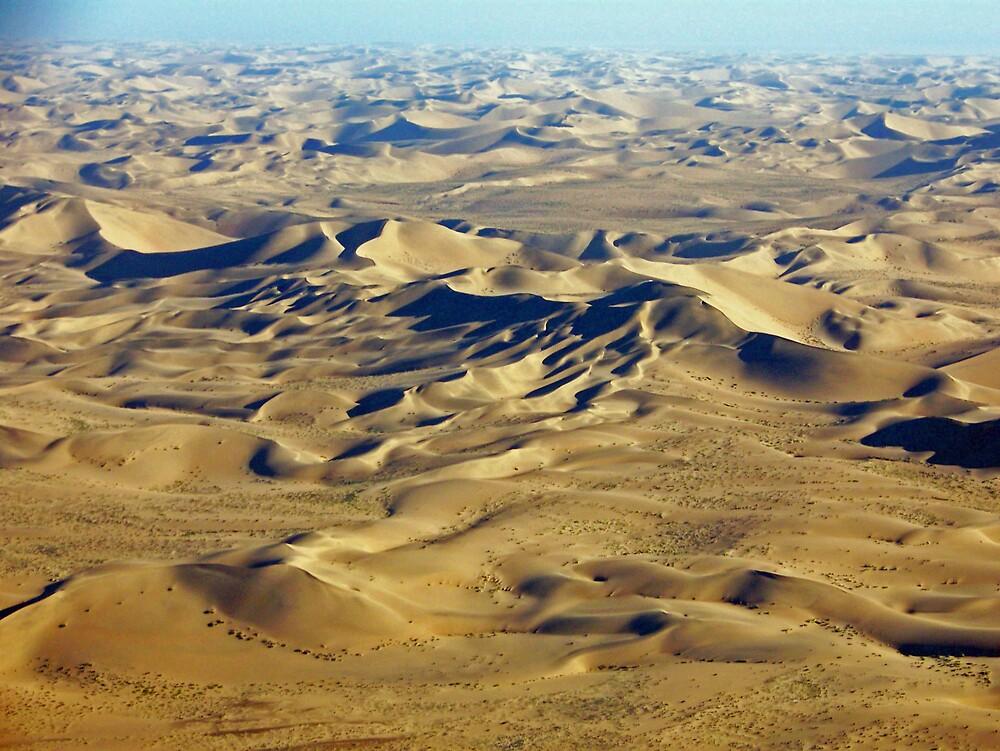 Dunes in the Namib Desert by tj107