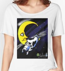 Cow Jumps over Moon Women's Relaxed Fit T-Shirt