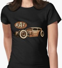 RAT - Route 66 Womens Fitted T-Shirt