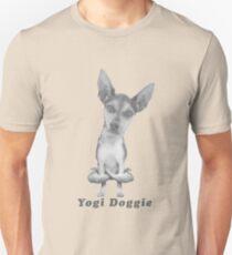 Dog T-Shirt: Yogi Doggie yoga funny tee Unisex T-Shirt