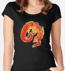Fox Surfing Women's Fitted Scoop T-Shirt