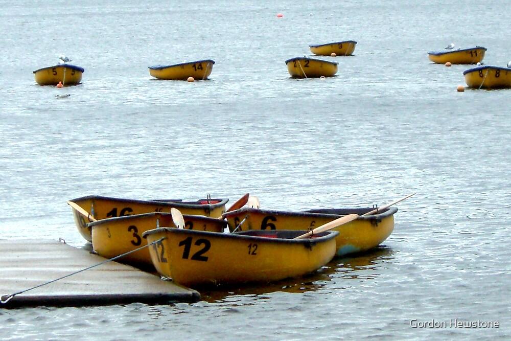 Boats by Gordon Hewstone