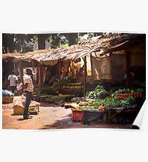 Lilongwe Markt Poster