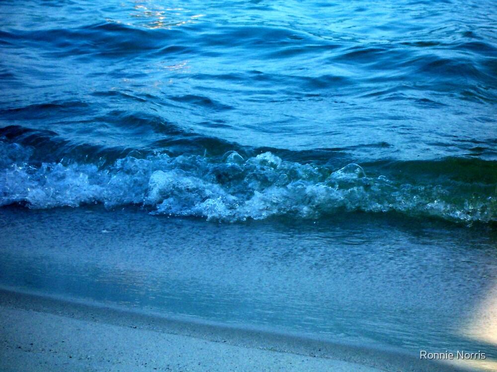 Ocean Blue. by Ronnie Norris