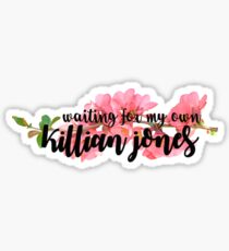 Once Upon A Time: Waiting For Killian Jones Sticker