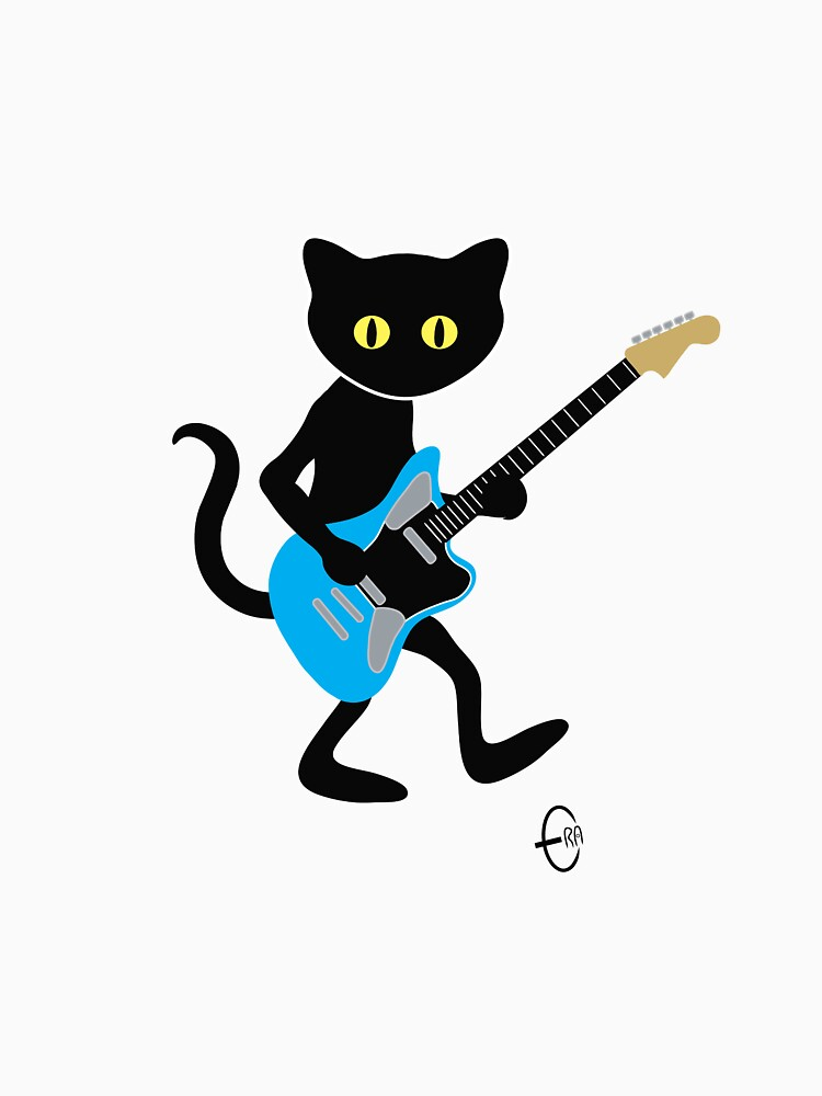 Guitar Cat by BizarroArt