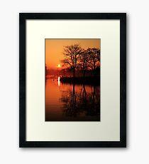 Sydenham Sunrise Framed Print
