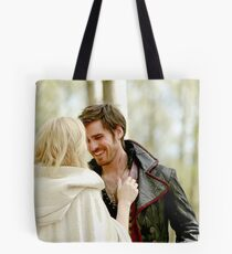 TV Show: Once Upon A Time (Captain Swan) Tote Bag
