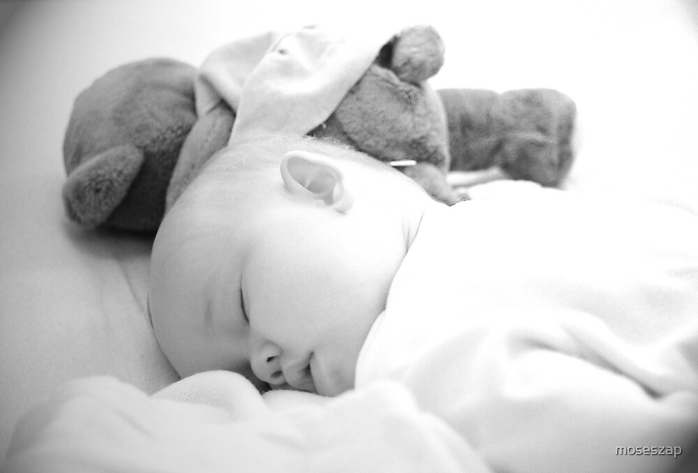 Sleeping with Teddy by moseszap