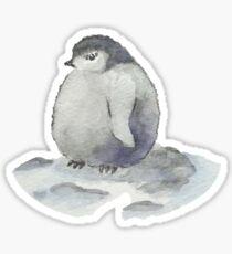 Chubby Penguin - Watercolors Sticker