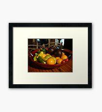 bountiful Harvest Framed Print