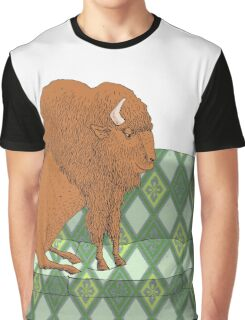 Buffalo on Couch nap time Graphic T-Shirt