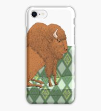 Buffalo on Couch nap time iPhone Case/Skin