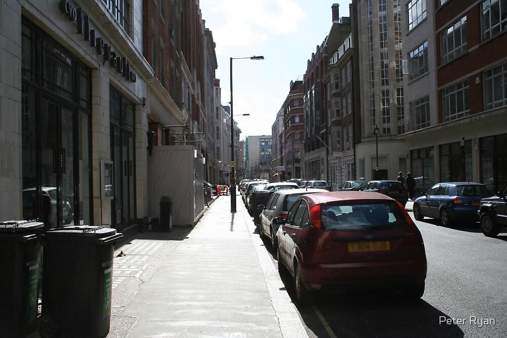 London City Street by Peter Ryan