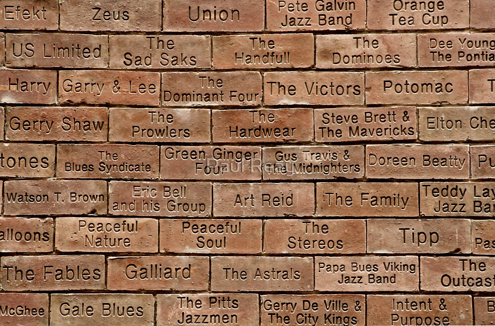 The Cavern Wall of Fame by Paul Reay