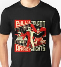 BILLY TALENT AFRAID HEIGHTS KENDARI Unisex T-Shirt