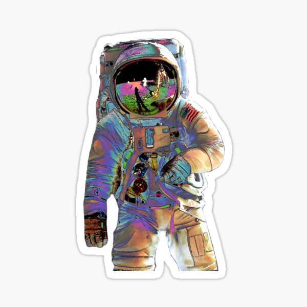 Astronaut Sticker