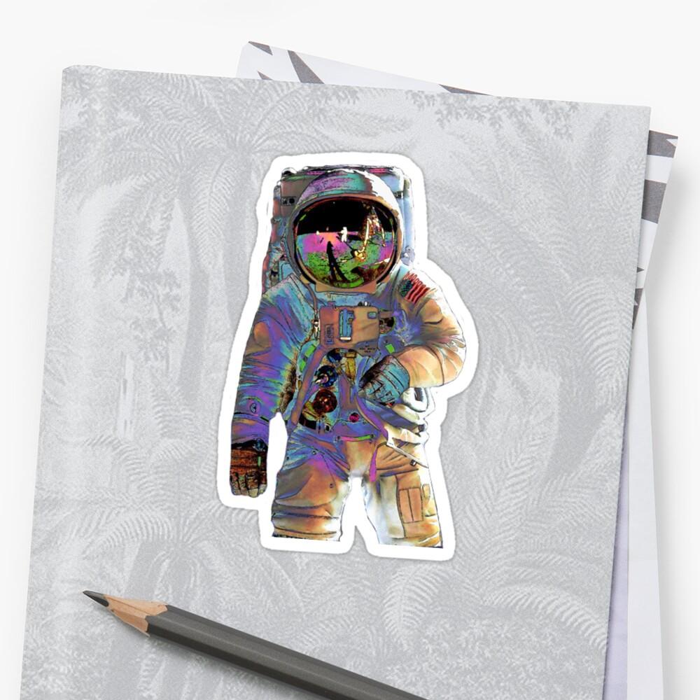 Astronauta Pegatina