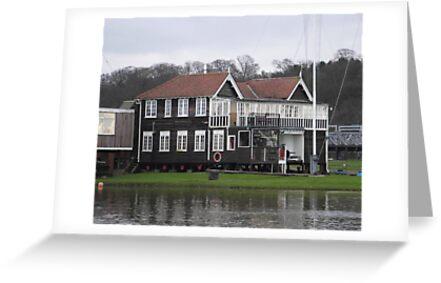 boathouse by David White
