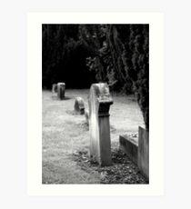 Dead men standing Art Print