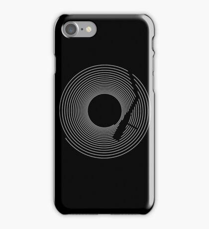 Vinyl Lines iPhone Case/Skin