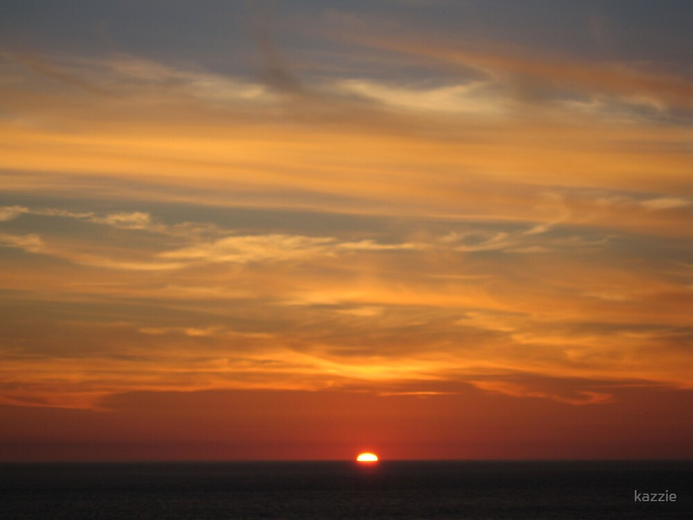 Sennen sunset by kazzie