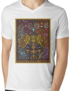 Yu-Gi-Oh #01 Mens V-Neck T-Shirt