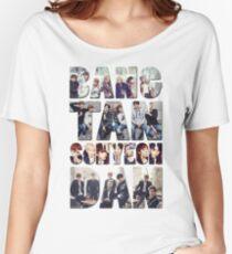 Camiseta ancha para mujer BTS