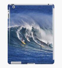 iPad Case.  Three Surfers At Waimea Bay.  iPad Case/Skin
