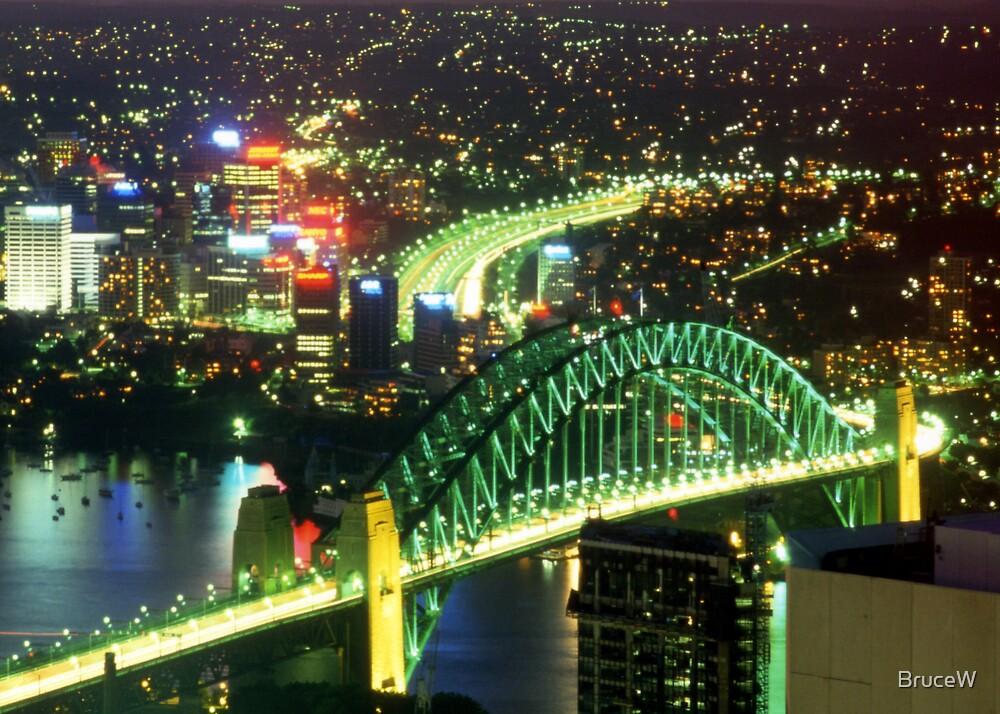 Sydney Harbour Bridge by BruceW