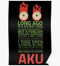 aku samurai jack  Poster