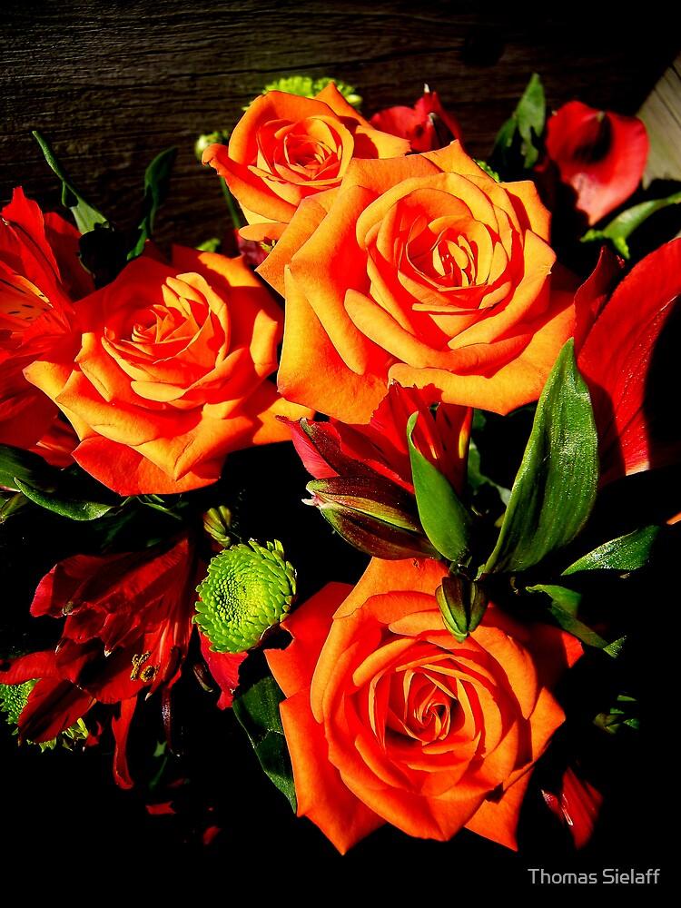 Moms Flowers by Thomas Sielaff