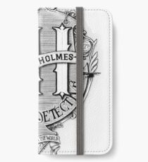 Sherlock Holmes - Consulting Detective iPhone Wallet