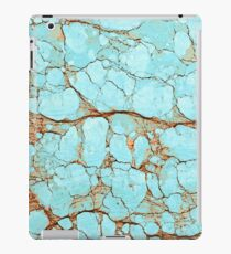 Rusty Cracked Turquoise iPad Case/Skin