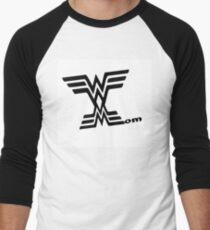 Wonder mom mothers day wall art Men's Baseball ¾ T-Shirt