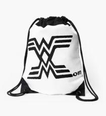 Wonder mom mothers day wall art Drawstring Bag