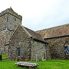 Historic St Clement's Church - Rodel, Isle of Harris by Marilyn Harris