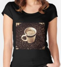 The art of brewing Women's Fitted Scoop T-Shirt