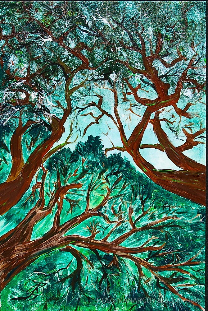 TREES by ROSS MANARCHY aka John Ross