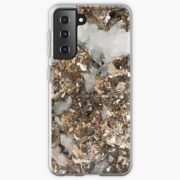 Marriage of Pyrite and Quartz Samsung Galaxy Soft Case