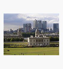 Old Meets New - Greenwich Photographic Print