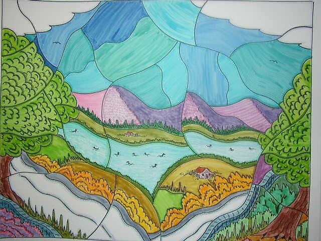 landscape by madvlad