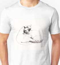 Chinky and Chang : ink drawing Unisex T-Shirt