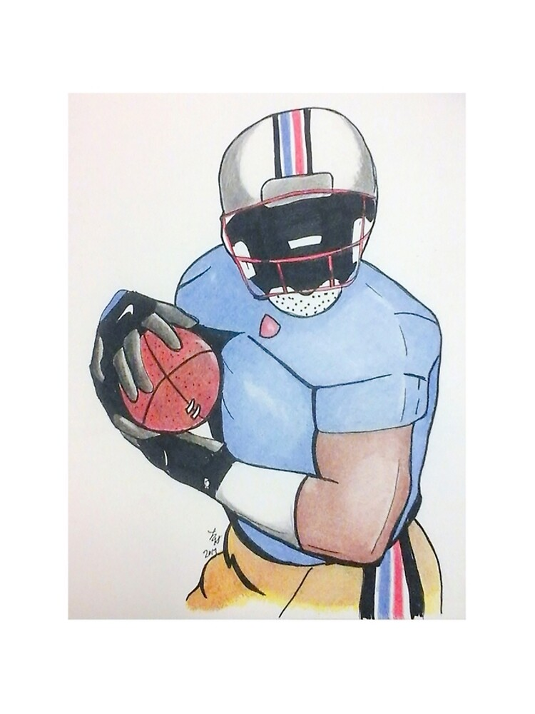 Football Player by lorgh