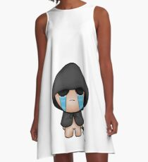 The Binding Of Isaac Rebirth Sinful Isaac SFW A-Line Dress