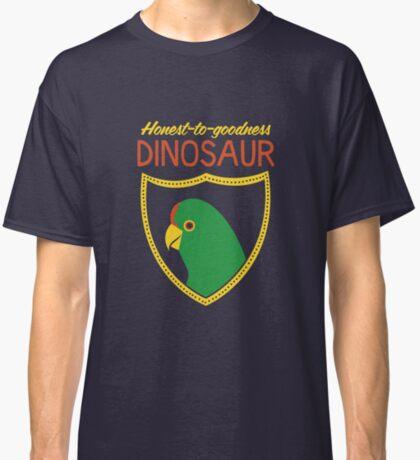 Honest-To-Goodness Dinosaur: Parakeet (on dark background) Classic T-Shirt