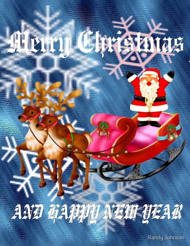 MERRY CHRISTMAS by Randy Johnson