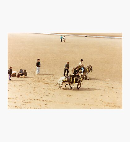 Blackpool's Donkeys Photographic Print
